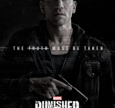 The Punisher a Marvel Series appearing on Netflix