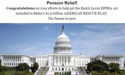 Pension Relief now!